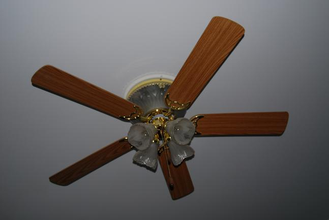 Paddle Fans and New Lighting are a good ways to make any room look great!